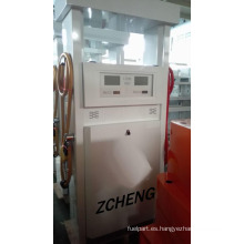 Zcheng gasolinera bomba de gasolina digital dispensador de combustible con 2 bombas