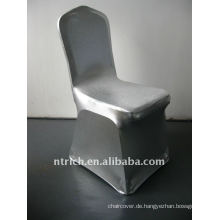 Luxus!!! Stuhl Silberbezug, Lycra Stuhlabdeckung, glänzend
