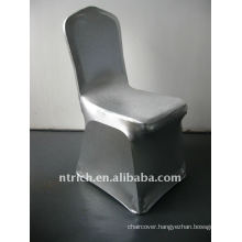 luxury!!! chair silver cover,lycra chair cover,shiny