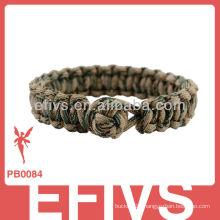 2013 new style diamond knots paracord dog tag bracelet