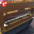 Perfil painel de telhado de aço colorido ondulado da folha de metal que forma a maquinaria