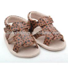 Zapatos encantadores infantiles al por mayor del niño de la muchacha del leopardo de los zapatos