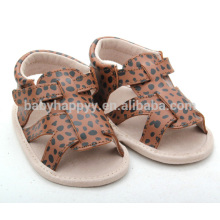 Wholesale infant lovely shoes leopard girl toddler shoes
