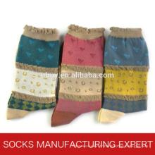 Chaussette en coton caustique pour femmes (UBM1064)
