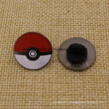 Pinos quentes do Pokeball do Pokemon do metal do esmalte da forma da venda
