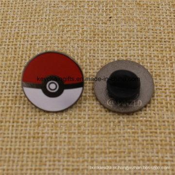 Pinos quentes do Pokeball do Pokemon do metal do esmalte da forma da venda