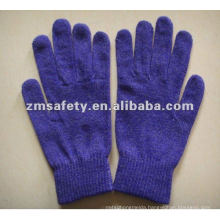Silver Fiber Acrylic iPhone Gloves For Screen Touch ZMR731