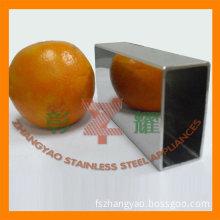 AISI 304 Welded Stainless Steel Rectangular Tube Price Per Ton