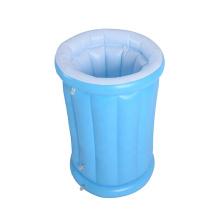 Cubo de hielo inflable personalizado con forma de botella de PVC