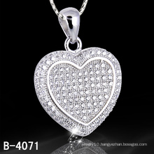 New Styles 925 Silver Micro Setting jewellery Pendant