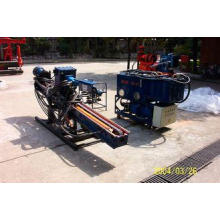 Portable Auger Drilling Rig Borehole Stepless Shift / DTH H