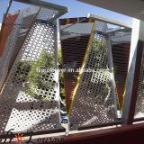 CNC laser cutting sunshading panel
