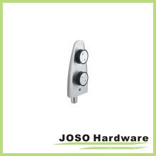Conector de hardware de cristal de pivote de acero inoxidable ED004