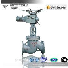 Моторизованный стальной литой стальной клапан PN 16-100 производитель