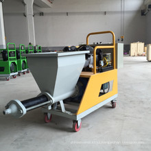 High quality mini cement mortar spraying plaster machine