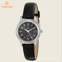 Women′s Elevated Classics Dress Black Leather Strap Watch 71181