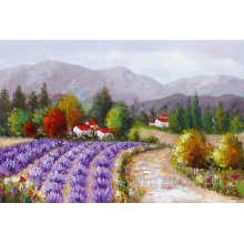Colorful Decorative Modern Landscape Canvas Art with No Frame