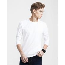 100% Baumwolle Herren Freizeit gedruckt Langarm T-Shirt