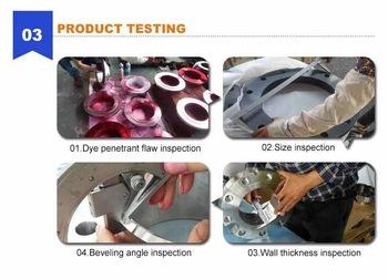 aluminum flange testing