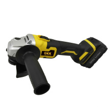 Hot Sale 20V Lithium Brushless Angle Grinder Cordless Tool Power Tool (2.0/4.0/6.0ah)