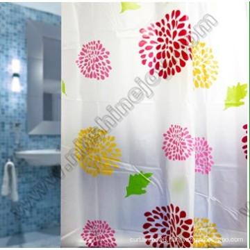 Shower Curtain in Bathroom