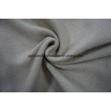 Weave de tissu de laine blanche pour le pardessus