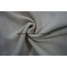 White Wool Fabric Weave for Overcoat