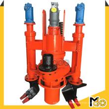 Hydraulische Rührwerk-Zentrifugal-tauchbare Schlamm-Pumpe für das Ausbaggern