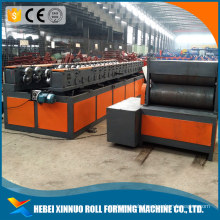 2017 hot cold roll forming machine garage door frame roller former line