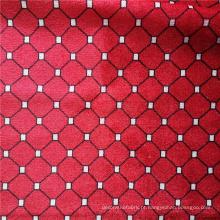 Tecido de veludo de poliéster para estofamento de tecido impresso para venda