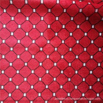 Бархатная ткань из полиэстера с набивным рисунком для продажи