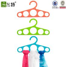 bucles de plástico bufanda percha corbata suspensión