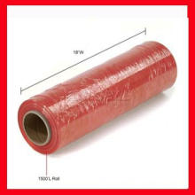 hot sale PE red stretch film