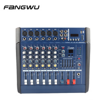 Hot Selling 6 Channel 602D USB Powered Amplifier Mixers with Blue-Tooths