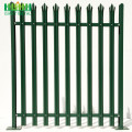 Galvanzied High Security Decorative Palisade Untuk Grosir