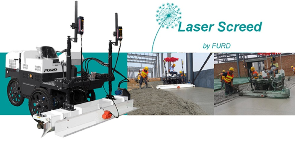 3D Laser Screed