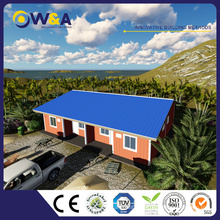 (WAS1010-36)Luxury Low Cost Steel Structure Prefabricated Concrete Houses Easy to Assemble