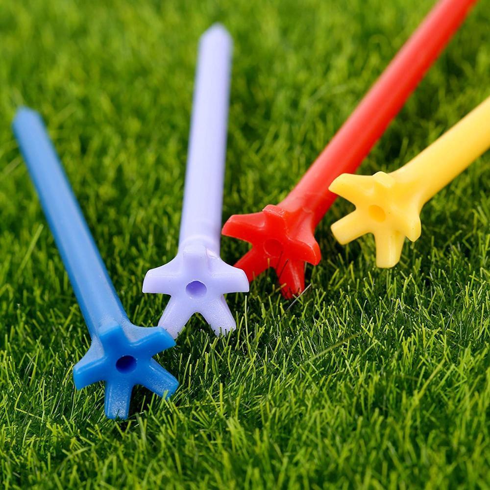 5 Prong Plastic Golf Tee 12
