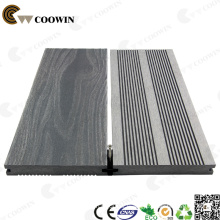 3D Wood Grain Deep Embossing Solid WPC Decking