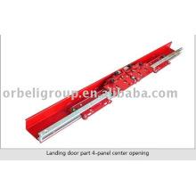 Landing door part 4-panel center opening,elevator door operator