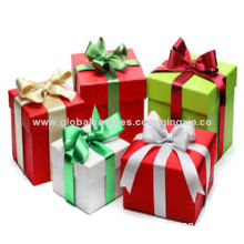 Christmas Packaging Boxes with Color Printing, OEM Orders Welcomed