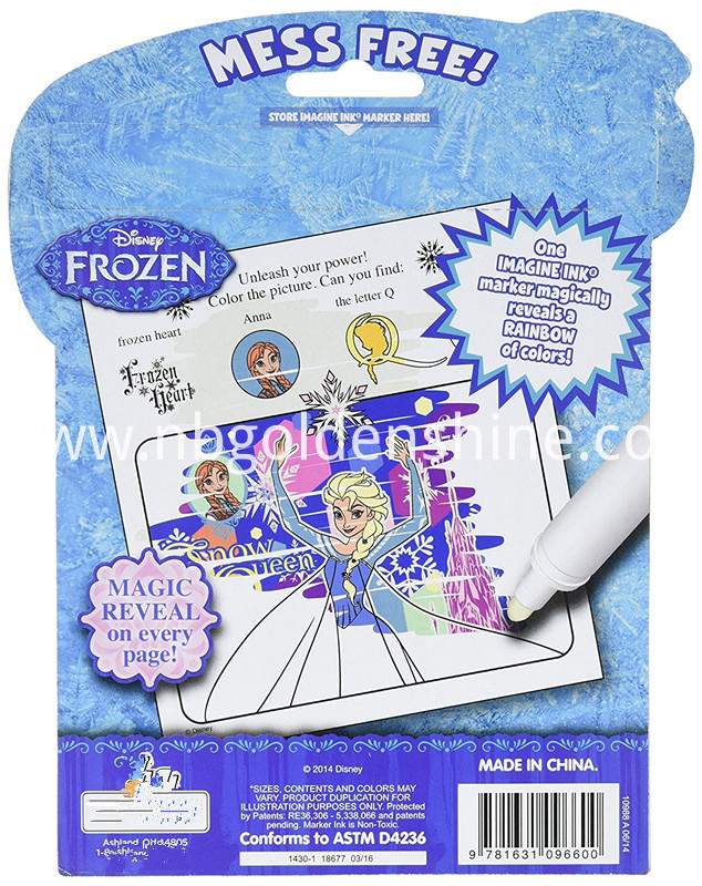 Frozen Magic Ink Hidden Book