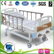 MDK-T303 Cama de hospital manual médica barato con dos funciones
