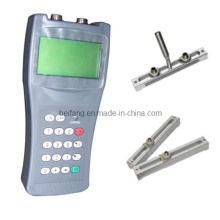 Type ultrasonique portatif de béquille de mètre de débit