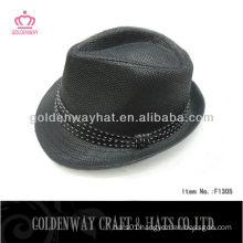 2013 Fashion fedora hat for sale (black)