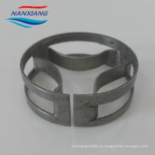 SS304 316 Anel oblíquo de arco curvo de metal
