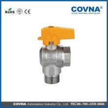 Aceite y válvula de bola de gas hechos en China