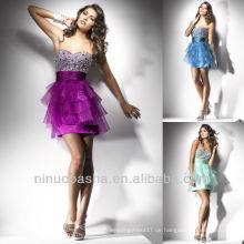 Schatz Schatz Sequin Tiered Rock Kurz Mini Flausch Graduierung Kleid Heimkehr Kleid