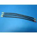 Medical metal pole male-female wiring