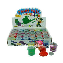 Novelty Funny Paint Pail Oil Barrel Slime Toy